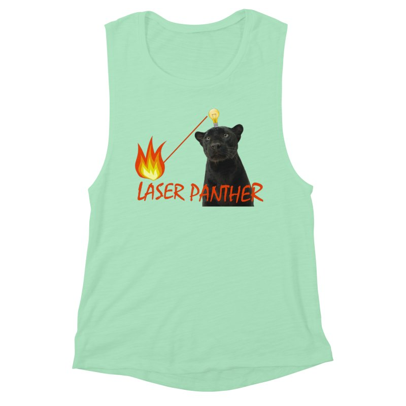 Laser Panther Women's Tank by TODD SARVIES BAND APPAREL