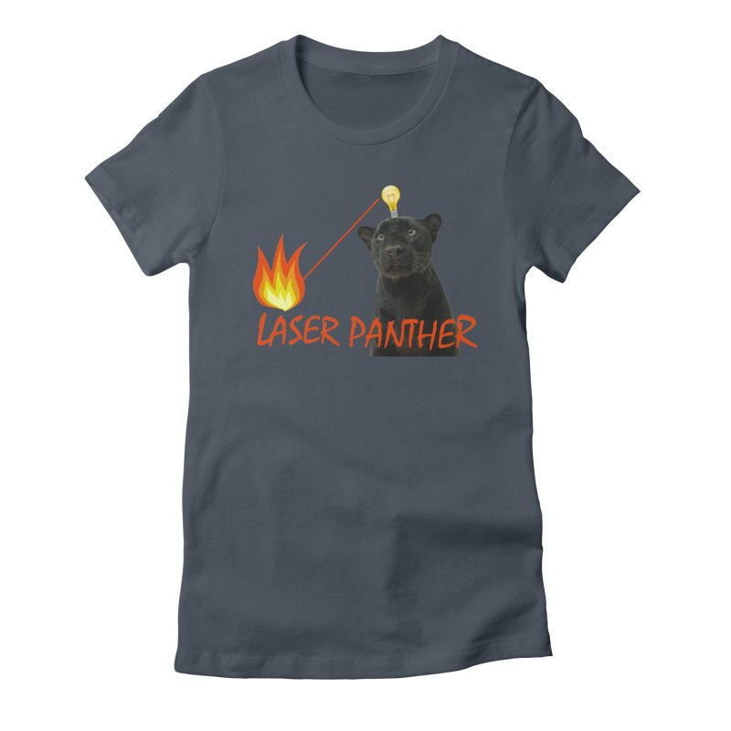 Laser Panther Women's T-Shirt by TODD SARVIES BAND APPAREL