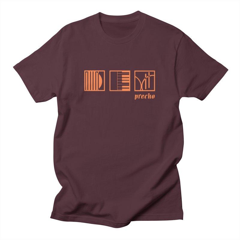 Precho Squares Logo Men's T-Shirt by TODD SARVIES BAND APPAREL