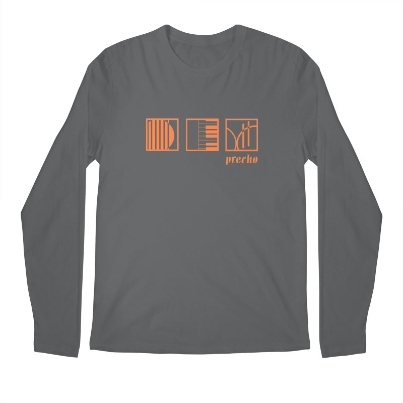 Precho Squares Logo Men's Longsleeve T-Shirt by TODD SARVIES BAND APPAREL
