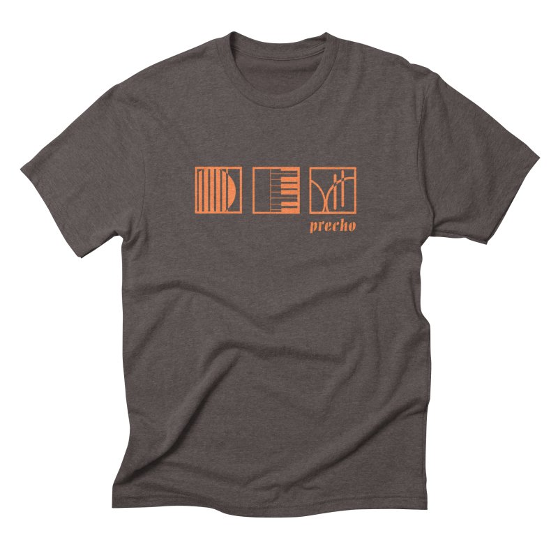 Precho Squares Logo Men's Triblend T-Shirt by TODD SARVIES BAND APPAREL
