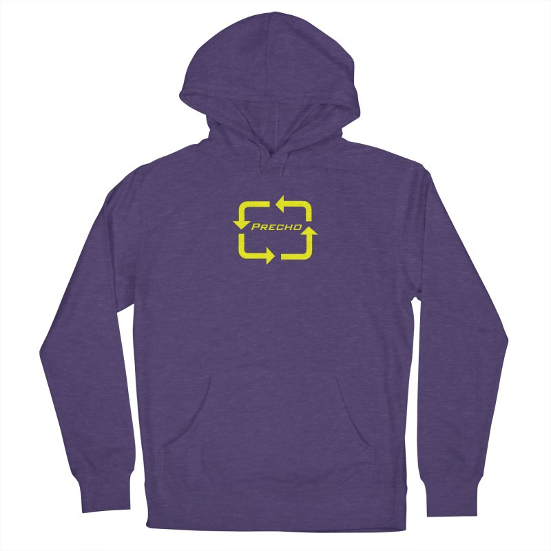 Precho Arrow Logo Men's French Terry Pullover Hoody by TODD SARVIES BAND APPAREL