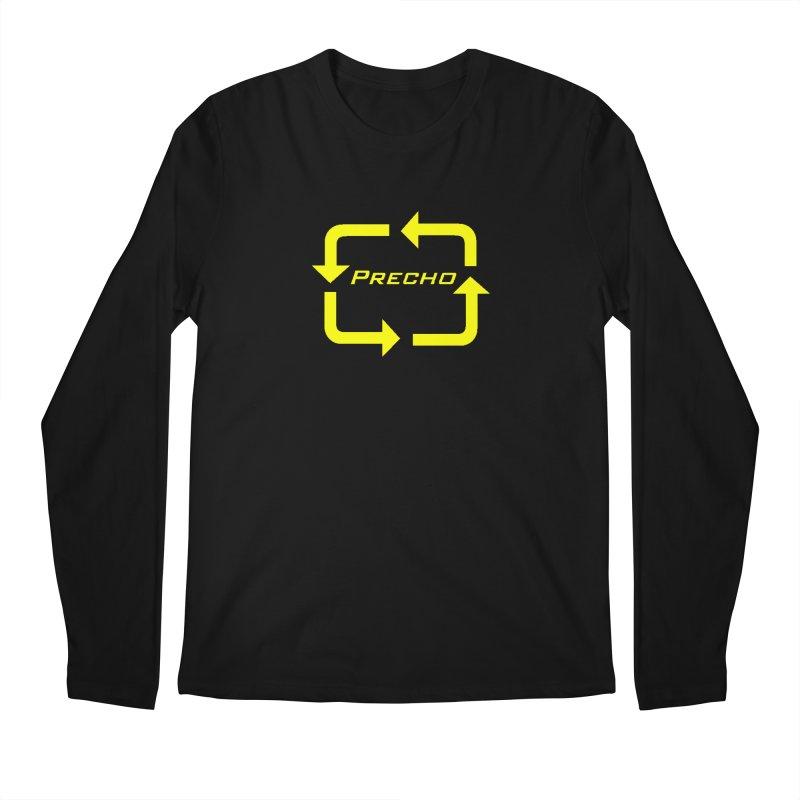 Precho Arrow Logo Men's Regular Longsleeve T-Shirt by TODD SARVIES BAND APPAREL