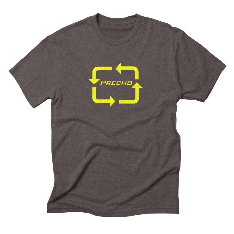Precho Arrow Logo Men's Triblend T-Shirt by TODD SARVIES BAND APPAREL