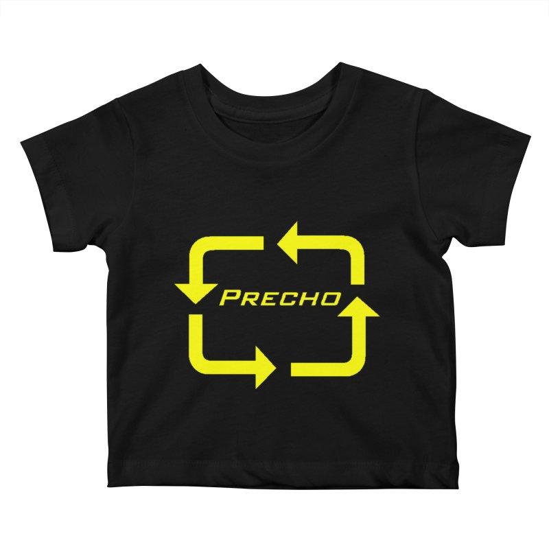 Precho Arrow Logo Kids Baby T-Shirt by TODD SARVIES BAND APPAREL