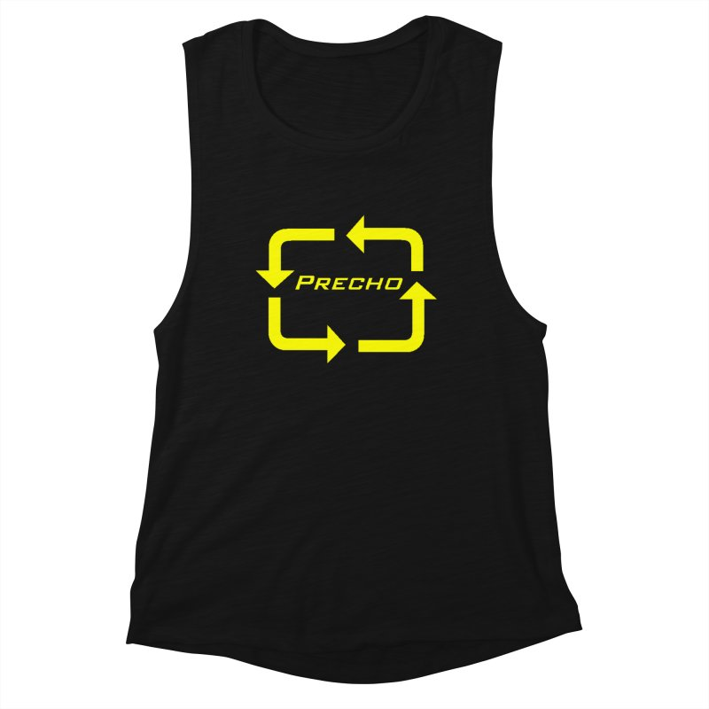 Precho Arrow Logo Women's Tank by TODD SARVIES BAND APPAREL