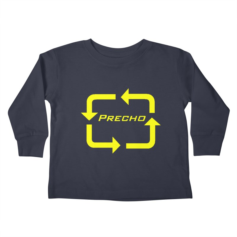 Precho Arrow Logo Kids Toddler Longsleeve T-Shirt by TODD SARVIES BAND APPAREL