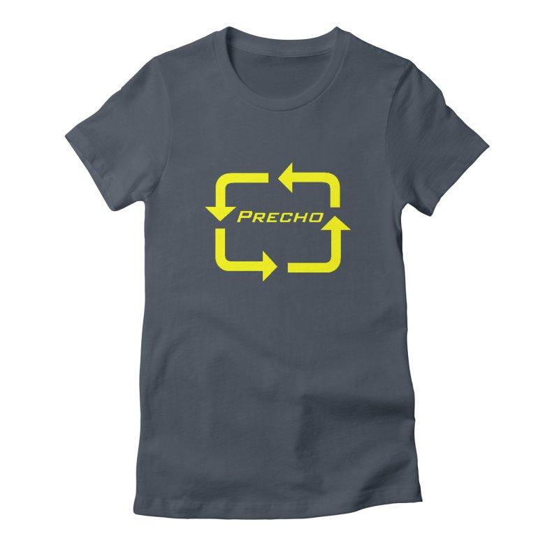 Precho Arrow Logo Women's T-Shirt by TODD SARVIES BAND APPAREL
