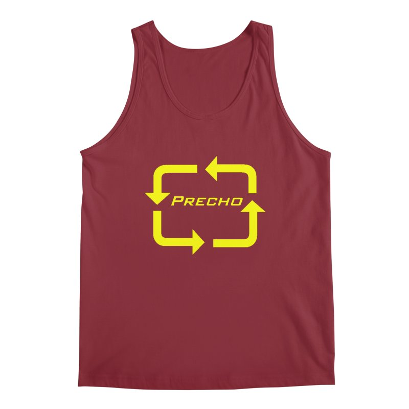 Precho Arrow Logo Men's Regular Tank by TODD SARVIES BAND APPAREL