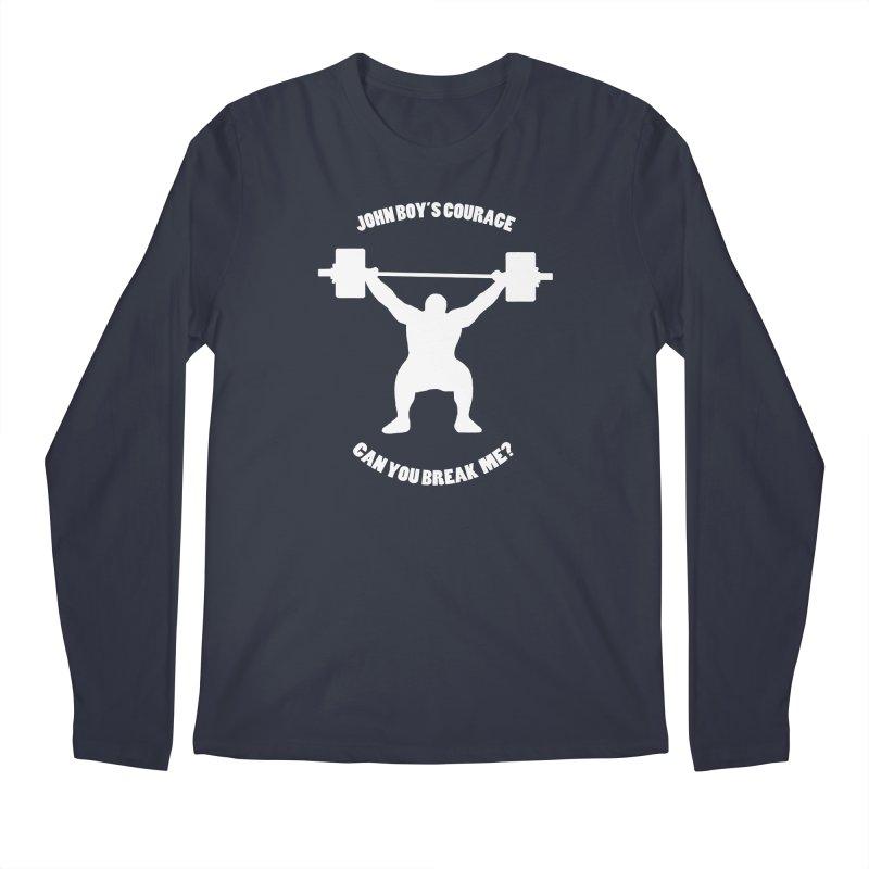 JBC Weight Lifter Men's Regular Longsleeve T-Shirt by TODD SARVIES BAND APPAREL