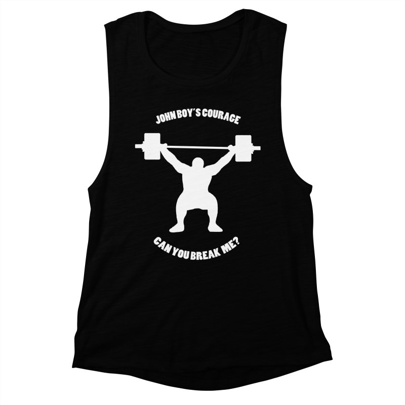 JBC Weight Lifter Women's Muscle Tank by TODD SARVIES BAND APPAREL