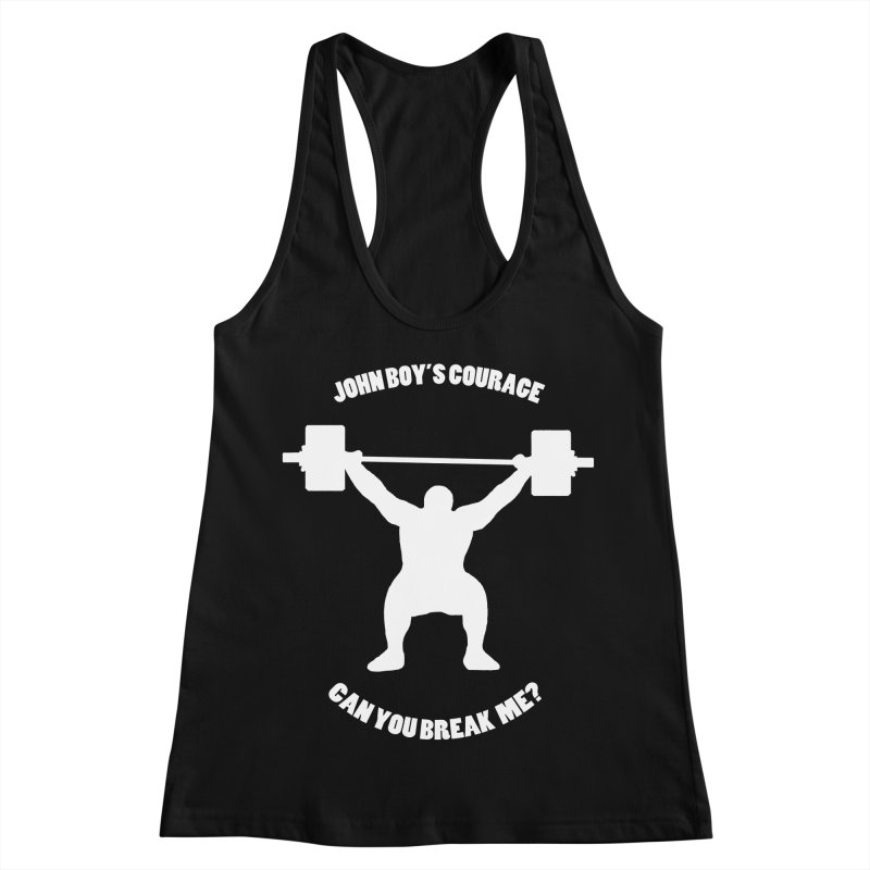 JBC Weight Lifter Women's Racerback Tank by TODD SARVIES BAND APPAREL
