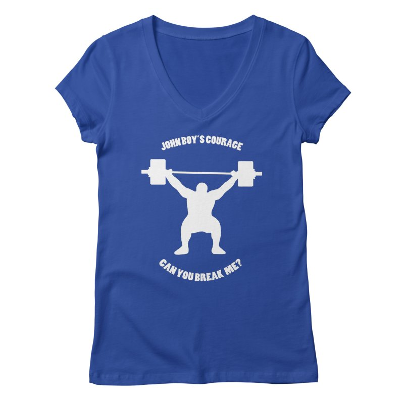 JBC Weight Lifter Women's Regular V-Neck by TODD SARVIES BAND APPAREL