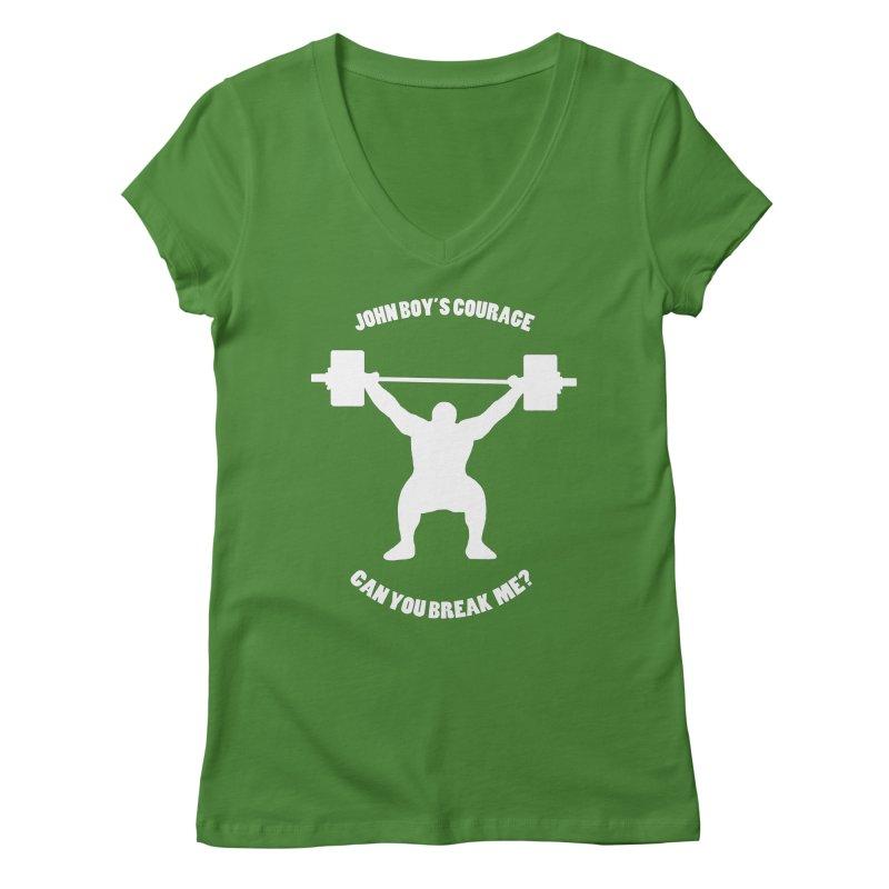 JBC Weight Lifter Women's Regular V-Neck by TODD SARVIES BAND APPAREL