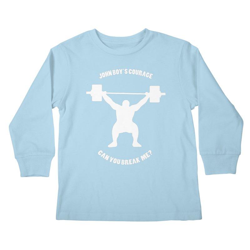 JBC Weight Lifter Kids Longsleeve T-Shirt by TODD SARVIES BAND APPAREL