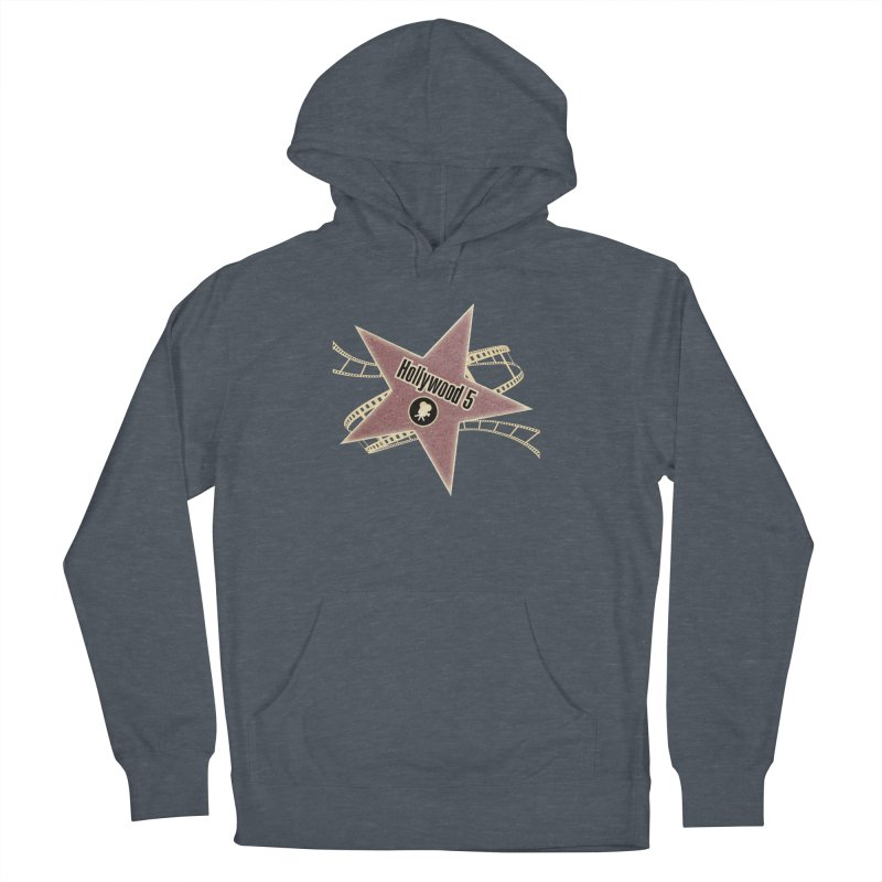 Hollywood 5 Star Women's French Terry Pullover Hoody by TODD SARVIES BAND APPAREL