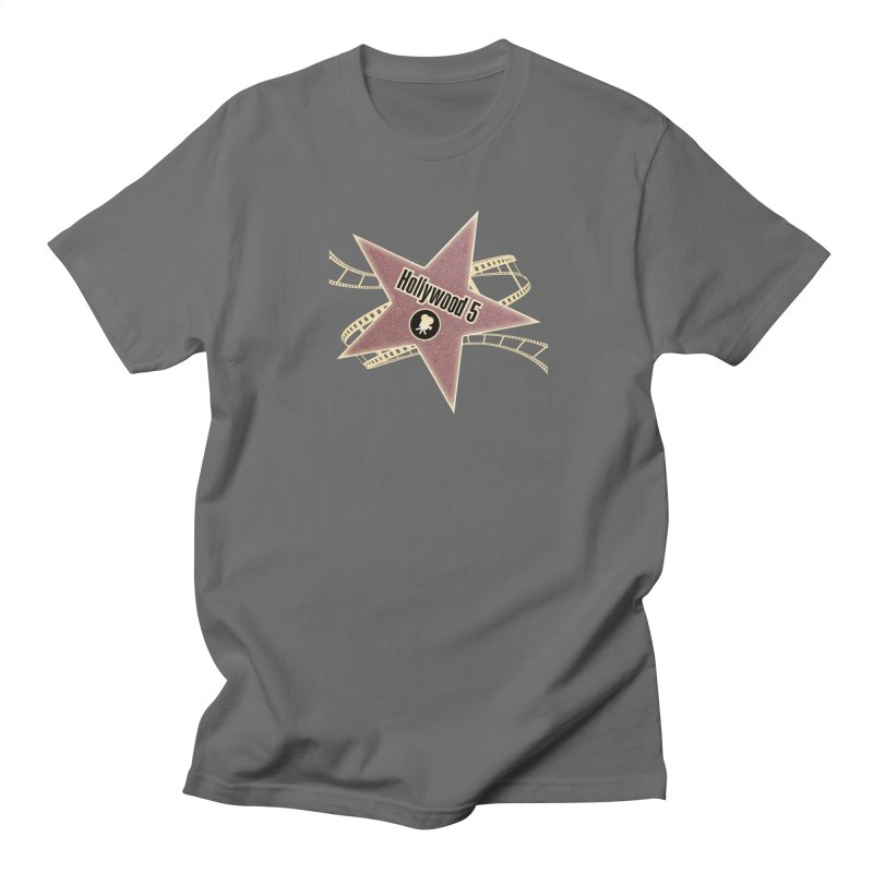 Hollywood 5 Star Men's T-Shirt by TODD SARVIES BAND APPAREL