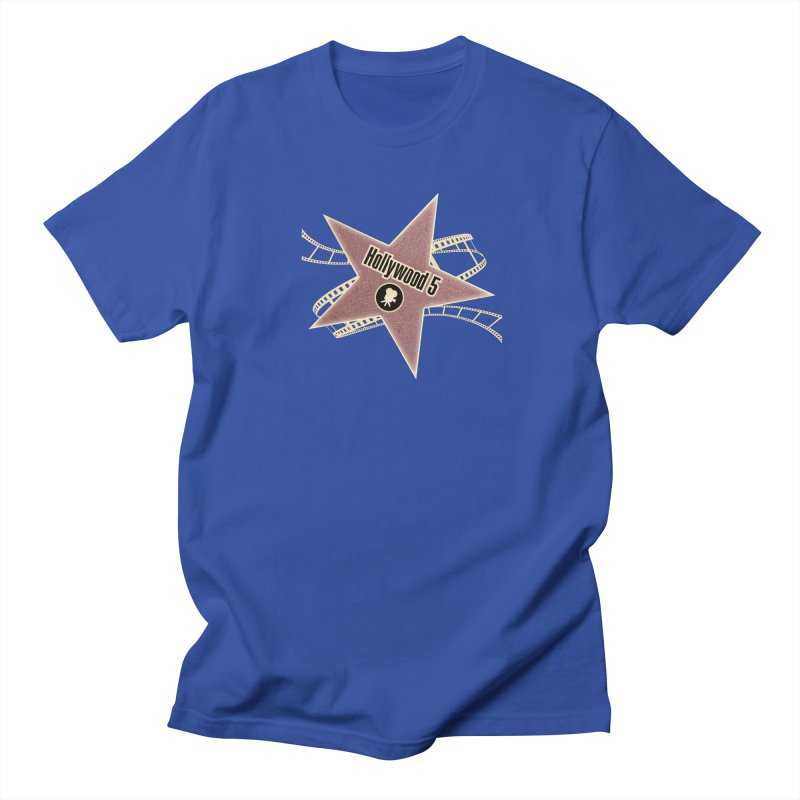 Hollywood 5 Star Men's Regular T-Shirt by TODD SARVIES BAND APPAREL