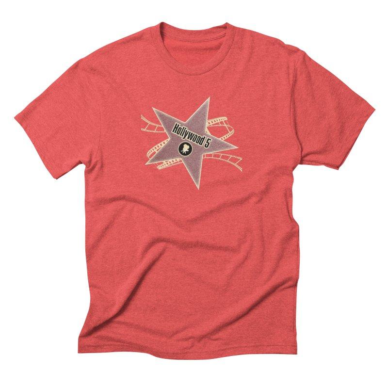Hollywood 5 Star Men's Triblend T-Shirt by TODD SARVIES BAND APPAREL
