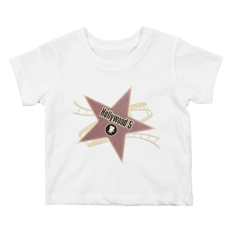 Hollywood 5 Star Kids Baby T-Shirt by TODD SARVIES BAND APPAREL