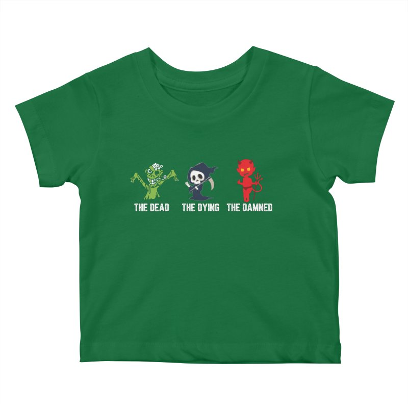 THE DEAD, THE DYING, THE DAMNED Kids Baby T-Shirt by TODD SARVIES BAND APPAREL
