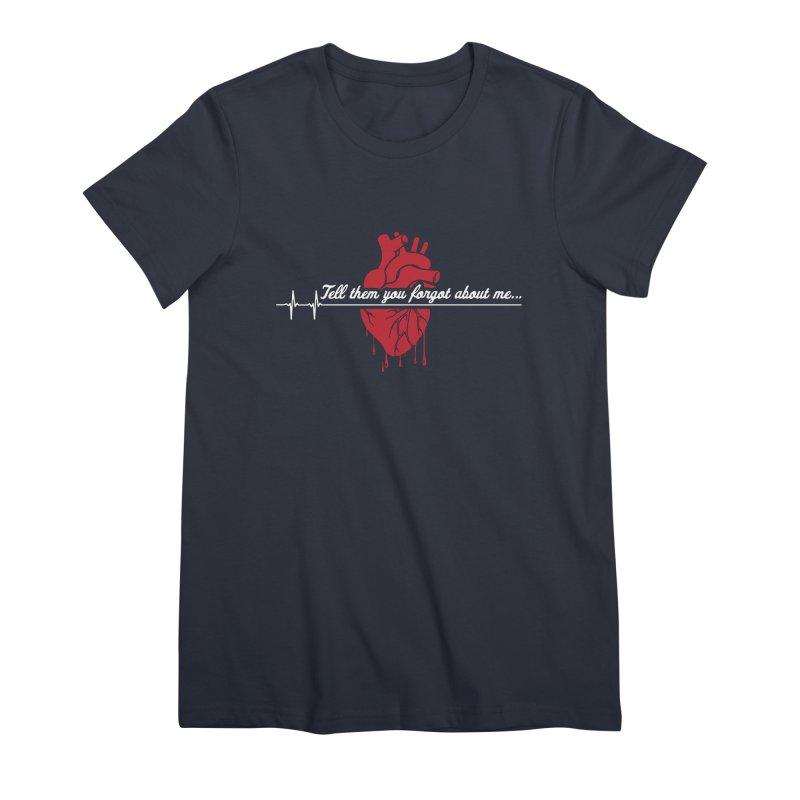 FLATLINE Women's Premium T-Shirt by TODD SARVIES BAND APPAREL