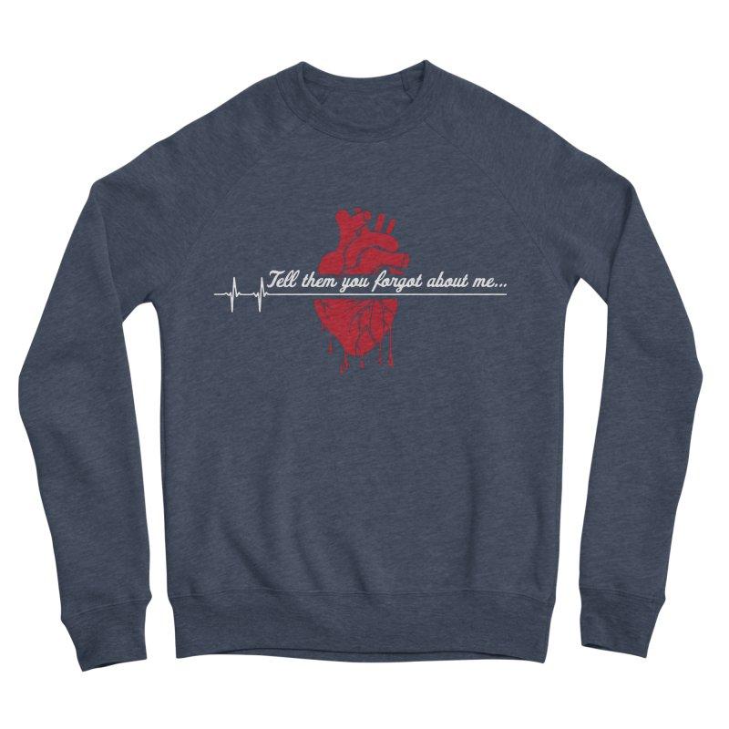FLATLINE Men's Sponge Fleece Sweatshirt by TODD SARVIES BAND APPAREL