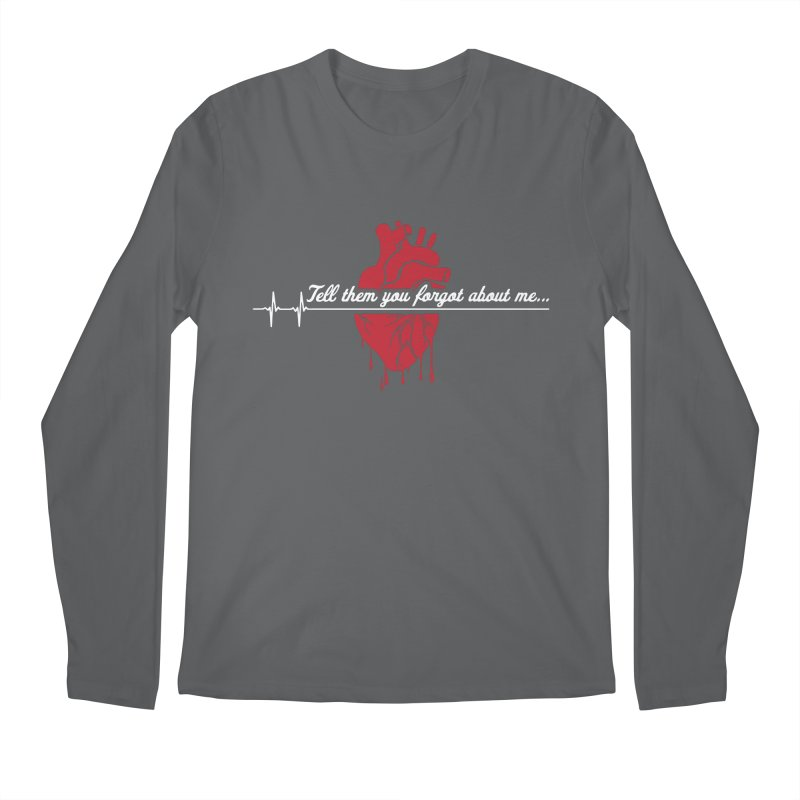 FLATLINE Men's Regular Longsleeve T-Shirt by TODD SARVIES BAND APPAREL
