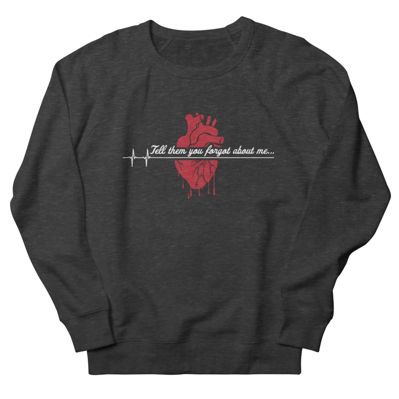 FLATLINE Men's French Terry Sweatshirt by TODD SARVIES BAND APPAREL