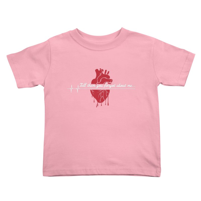 FLATLINE Kids Toddler T-Shirt by TODD SARVIES BAND APPAREL