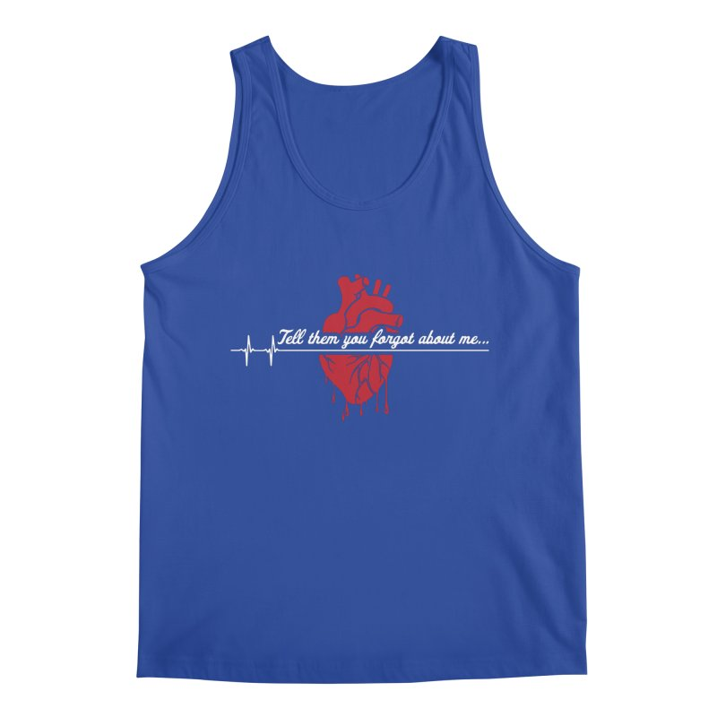 FLATLINE Men's Regular Tank by TODD SARVIES BAND APPAREL