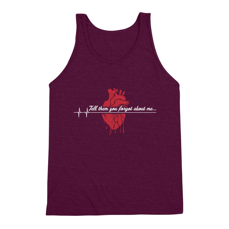 FLATLINE Men's Triblend Tank by TODD SARVIES BAND APPAREL