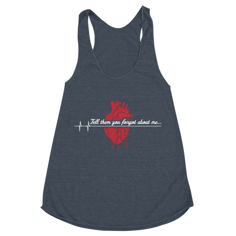 FLATLINE Women's Racerback Triblend Tank by TODD SARVIES BAND APPAREL