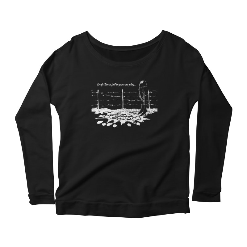 FARE THEE WELL Women's Scoop Neck Longsleeve T-Shirt by TODD SARVIES BAND APPAREL