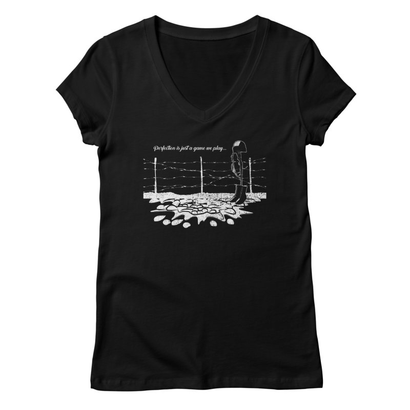 FARE THEE WELL Women's Regular V-Neck by TODD SARVIES BAND APPAREL