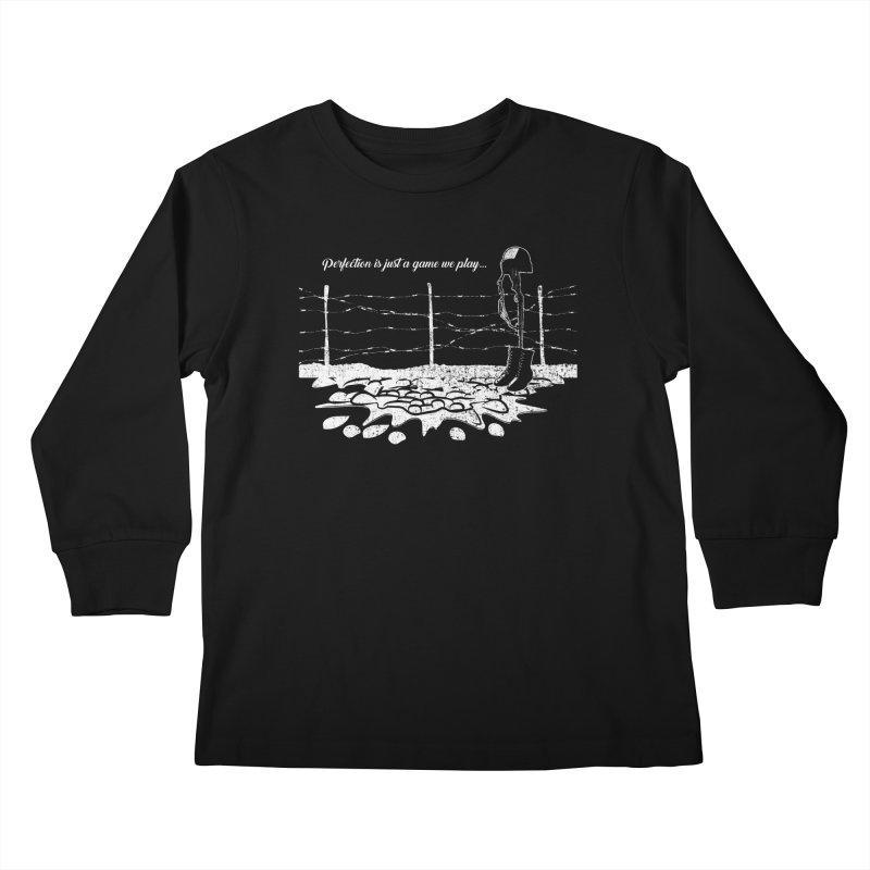 FARE THEE WELL Kids Longsleeve T-Shirt by TODD SARVIES BAND APPAREL