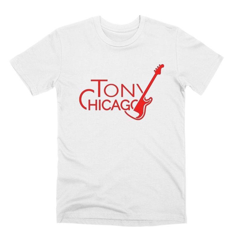 CHICAGO COLORS Men's Premium T-Shirt by TONYCHICAGO 's Artist Shop