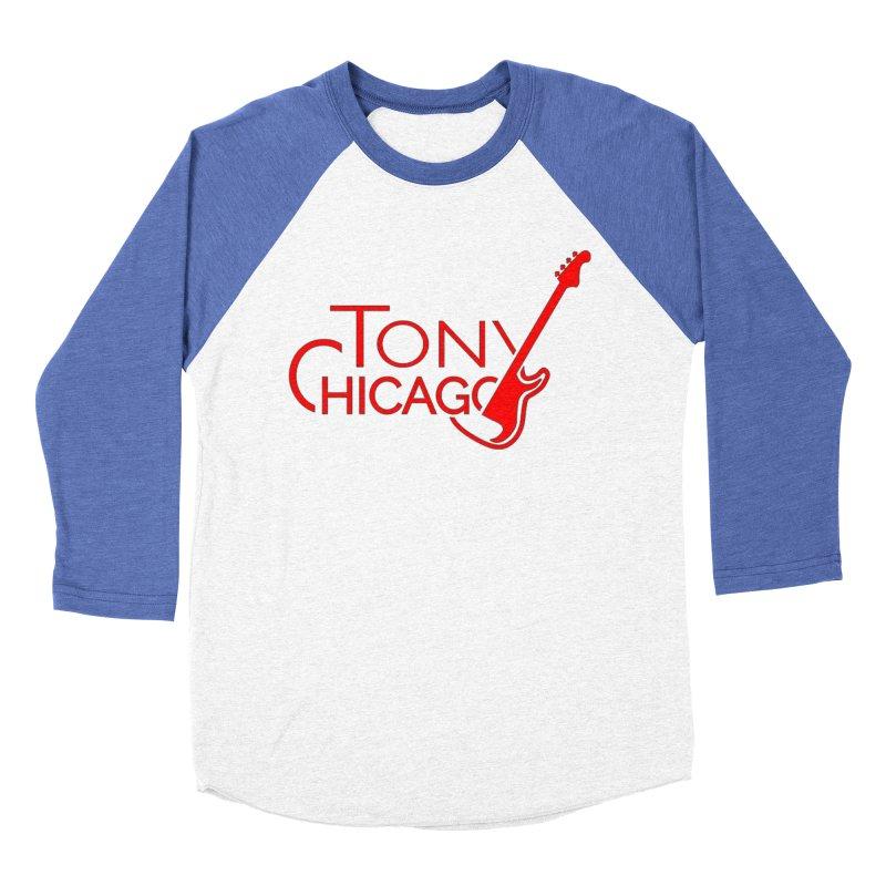 CHICAGO COLORS Men's Baseball Triblend Longsleeve T-Shirt by TONYCHICAGO 's Artist Shop