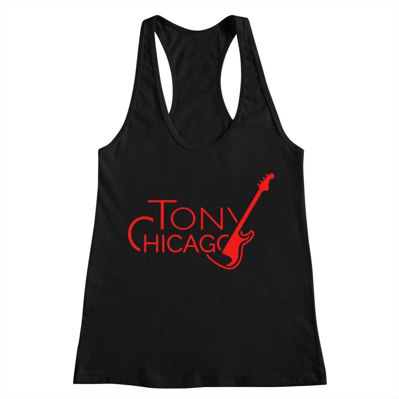 CHICAGO COLORS Women's Racerback Tank by TONYCHICAGO 's Artist Shop