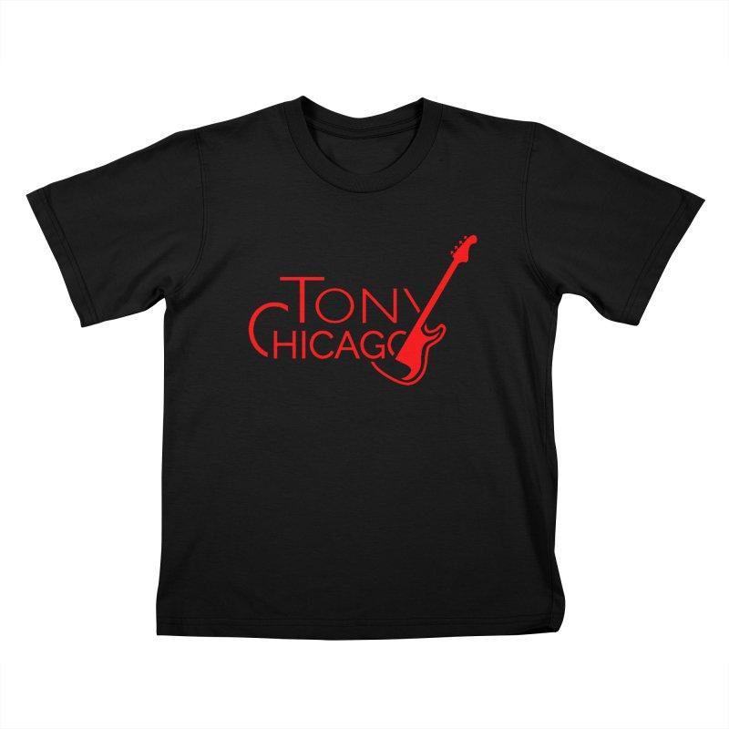 CHICAGO COLORS Kids T-Shirt by TONYCHICAGO 's Artist Shop