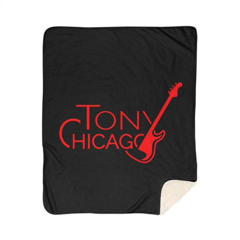 CHICAGO COLORS Home Sherpa Blanket Blanket by TONYCHICAGO 's Artist Shop