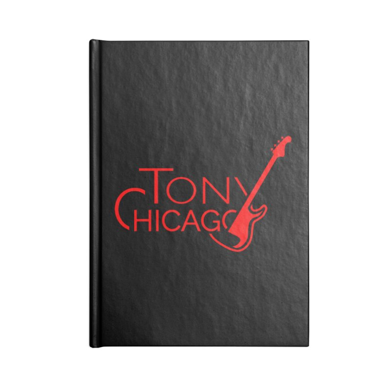 CHICAGO COLORS Accessories Blank Journal Notebook by TONYCHICAGO 's Artist Shop