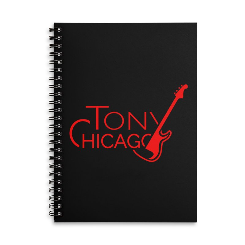 CHICAGO COLORS Accessories Lined Spiral Notebook by TONYCHICAGO 's Artist Shop