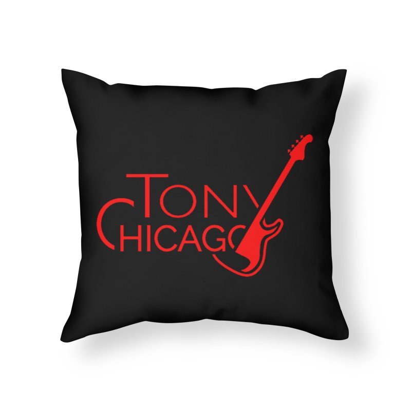 CHICAGO COLORS Home Throw Pillow by TONYCHICAGO 's Artist Shop