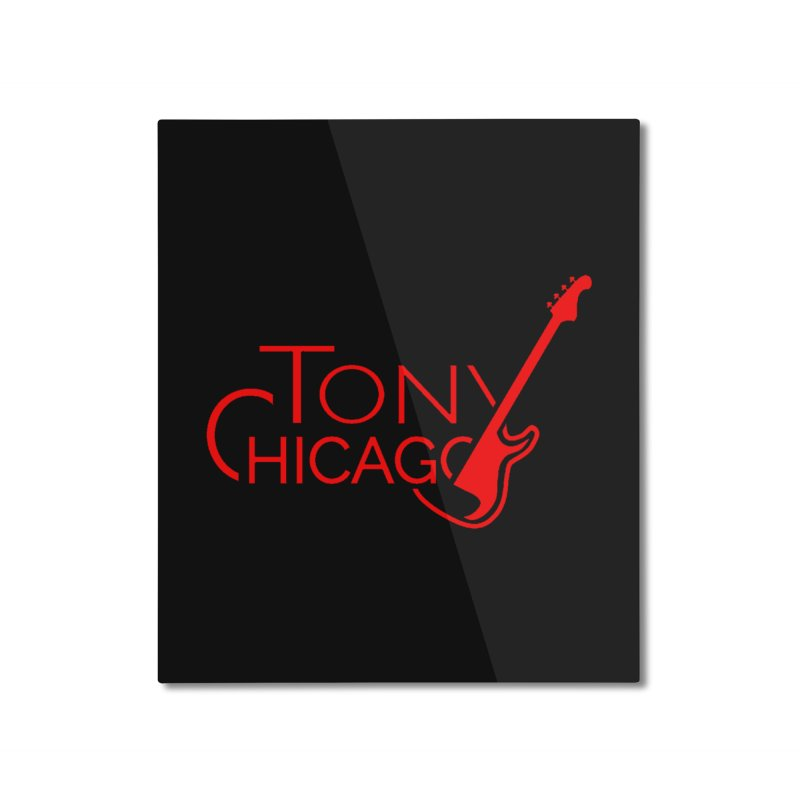 CHICAGO COLORS Home Mounted Aluminum Print by TONYCHICAGO 's Artist Shop