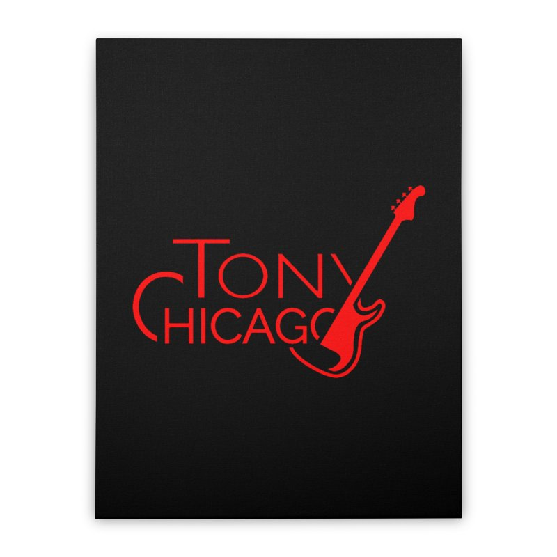 CHICAGO COLORS Home Stretched Canvas by TONYCHICAGO 's Artist Shop