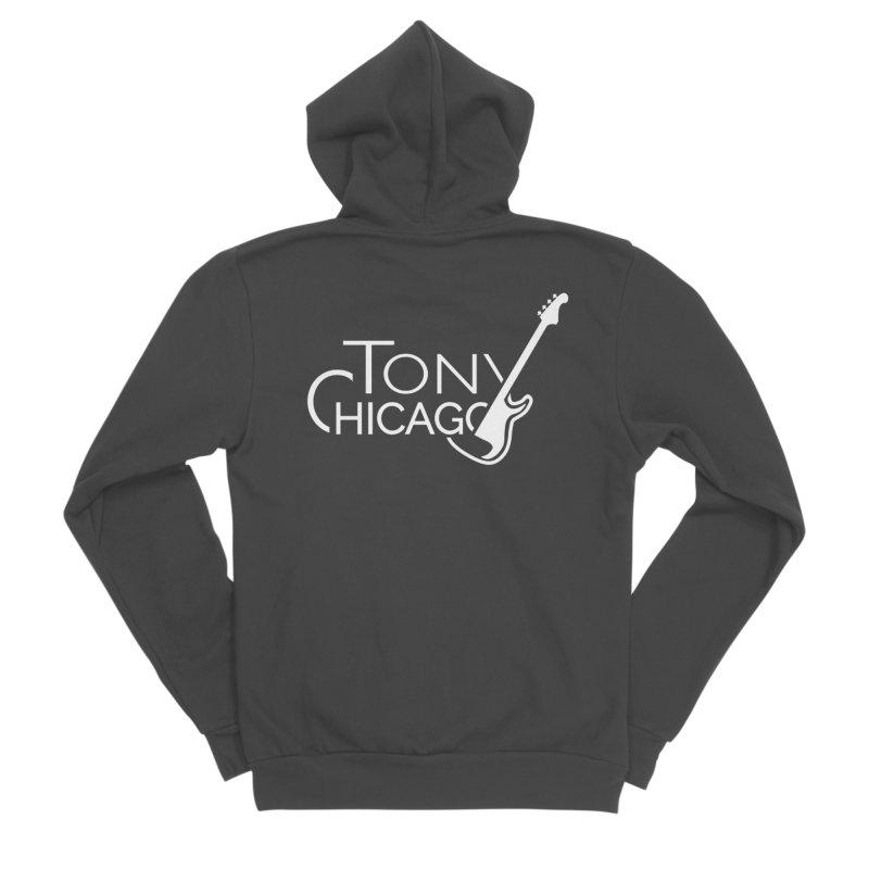 CHICAGO CHILLING Women's Sponge Fleece Zip-Up Hoody by TONYCHICAGO 's Artist Shop