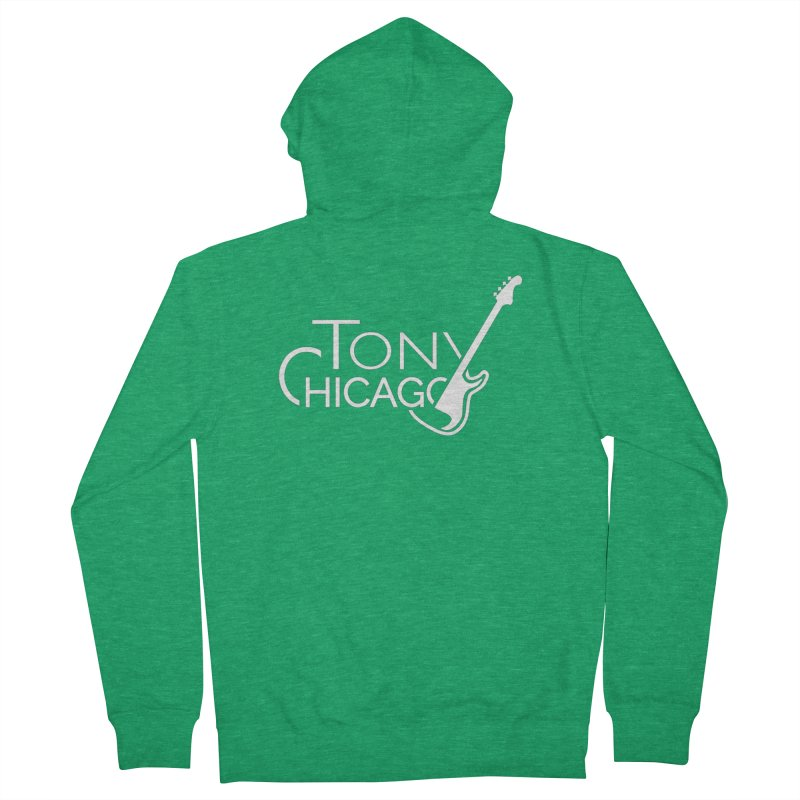 CHICAGO CHILLING Men's Zip-Up Hoody by TONYCHICAGO 's Artist Shop