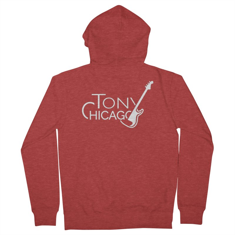 CHICAGO CHILLING Men's French Terry Zip-Up Hoody by TONYCHICAGO 's Artist Shop