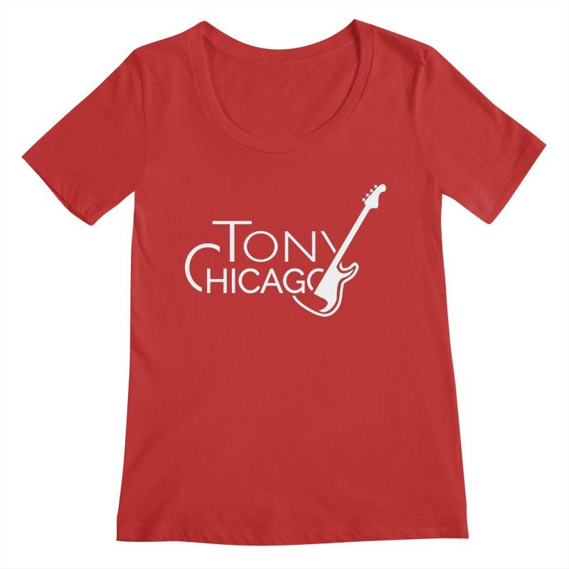CHICAGO CHILLING Women's Regular Scoop Neck by TONYCHICAGO 's Artist Shop